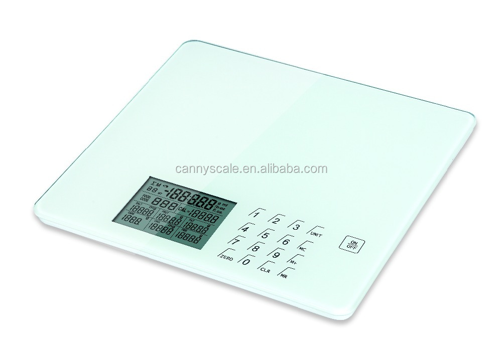 Most popular nutrition scale with big LCD display
