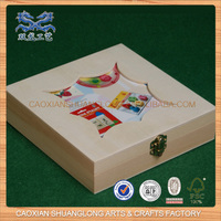 factory direct sales all kinds of customized small antique wooden jewelry box
