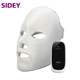 SIDEY Wholesale Skin Rejuvenation Anti-aging Face Led Light Therapy Mask for Home Use