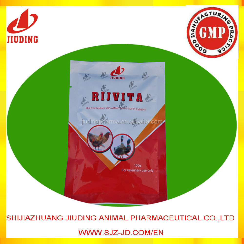 Veterinary pharmaceutical herbal medicine for poultry