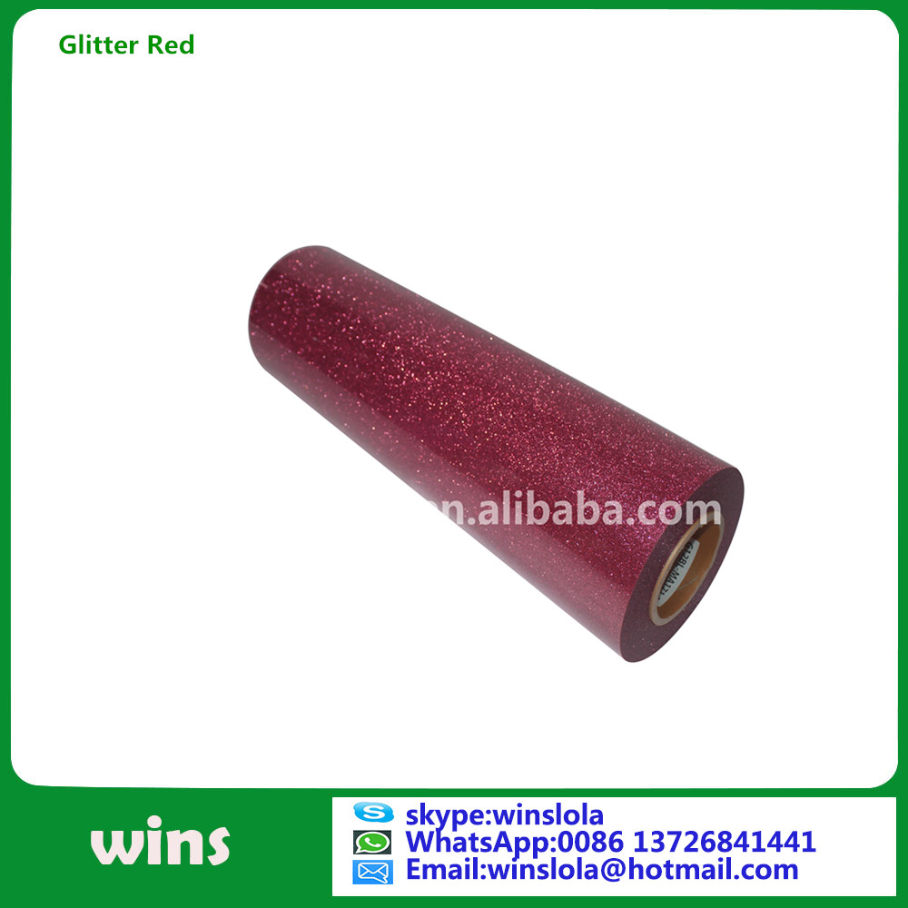 glitter film for garment purple heat transfer vinyl glitter