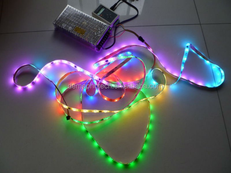 5V Flexible Digital Pixel RGB LED Strip LPD8806