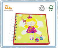 Kids stationery customized Spiral Ring notebook