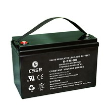 Solar power lead acid true gel battery 12v90ah