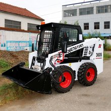 Supply Battery electric skid steer loader made in China, electric skid steer loader