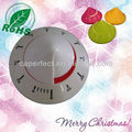 Cute Colorful Plastic Triangle Taper Shaped Kitchen Mechanical Timer