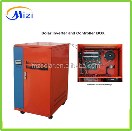 home solar power system kits 500w 1kw 2kw 3kw 5kw 10kw off-grid household solar power system