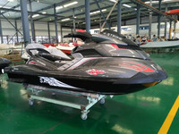2017 New condition SJ1800cc powerful 4 stroke Jet Ski PWC with water jet pump sea scooter sanj mate china