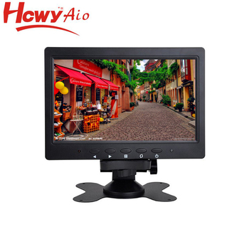 Mini 7 inch TFT Lcd Monitor Resistive Touch Screen Monitor With Cheap Price