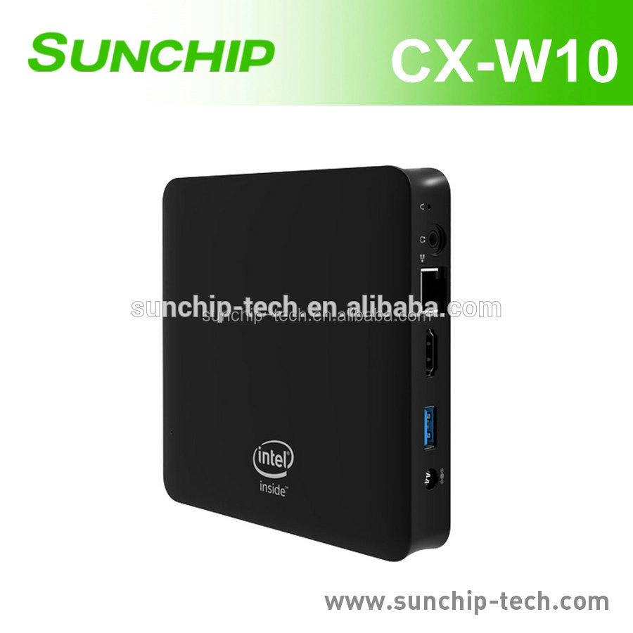 2017 Hot selling smart Mini PC powered by Intel Atom x5-Z8350