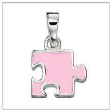Custom Enamel Autism Awareness Puzzle Charm Wholesale