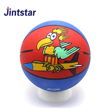 Wholesale custom print promotional toy ball rubber mini basketball ball