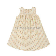 2014 new style fashion picture of children casual dress