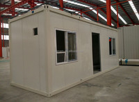 Prefabricated Luxury Container Villa / Shop