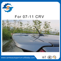 Hign quality ABS plastic material unpainted color rear spoiler with light for CRV 2007-2011
