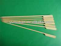 Disposable bamboo barbeque equipment