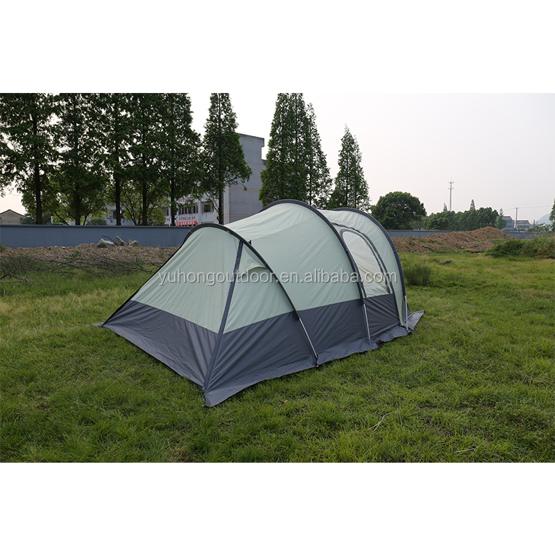 Portable 3 rooms Camping Outdoor Family professional Mountaineering tent