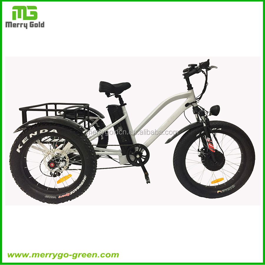 Hot Sale 48V 500W Adult Three Wheel Cargo Electric Motorcycle Motocycles