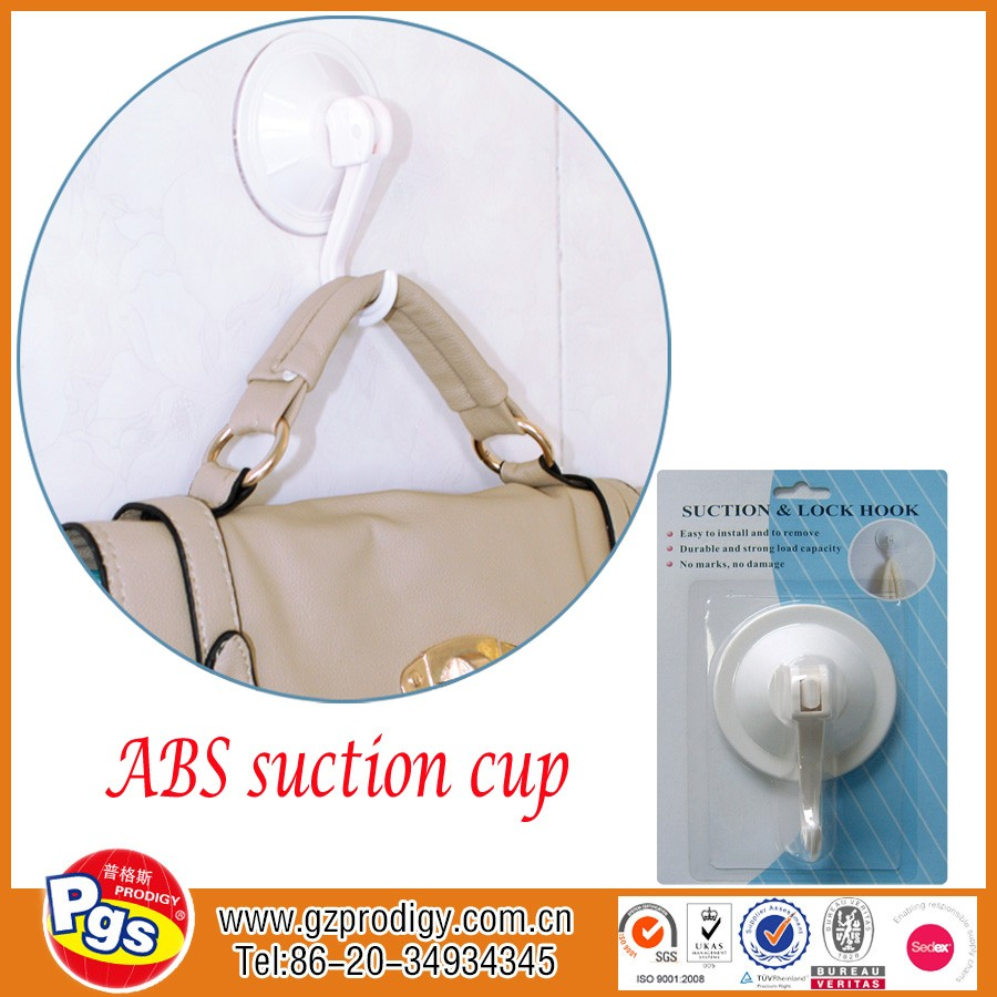 Strong plastic suction cup hook view plastic suction hook for How strong is acrylic glass