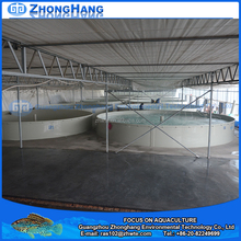 Aquaculture water tanks fish farm for sale