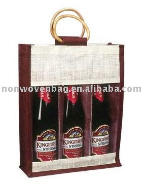 Wine Glass Gift Bags