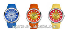 2013 Colorful Fashion fruitage Silicone Wrist girl's Watch