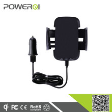 Powerqi C3 3 coils qi certificated car cell phone charger for Samsung Galaxy S3 OEM available