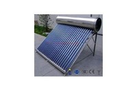 Non-Pressure Bearing Type System All Stainless Steel type Flat Plate Solar thermal collector