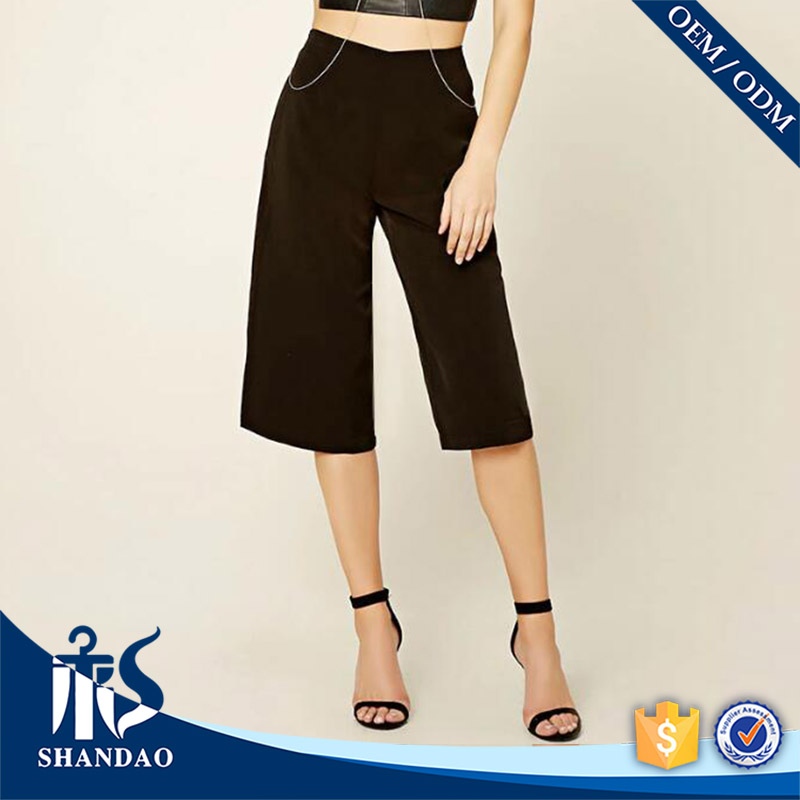 Good Quality China Shandao OEM Summer Casual Latest Design Women Sexy Trousers