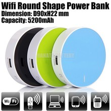 5200mAh Wifi Power Bank 3G WiFi Router for Mobile Phones Made in China