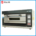 220v bakery machine 1 deck electric industrial dessert pizza oven factory