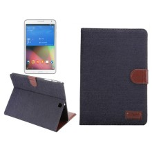 Denim Book Leather Case Stand Protective Case Cover For Samsung Galaxy Tab S2 9.7 Inch T810 T815