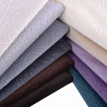 Super soft short pile cut velvet velboa 100% polyester burnout velvet fabric for sofa cushion upholstery