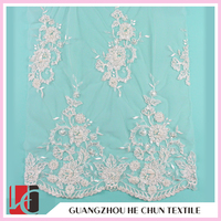WHF-224 Scalloped Edged Lace Heavy Fabric/China Store Wholesale Lace