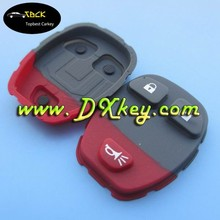silicone key cover 2+1 button pad keyless remote case for GM