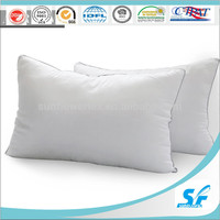 Cheap White 7D Virgin Ball Fiber Filling Pillow For Hotel And Hospital