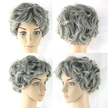 Cosplay fashion human hair full lace wig