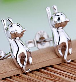 Wholesale cat design earring alibaba express ladies cute earring
