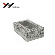 Custom Printed Pvc/Pet Window Paper Folding Box Clear Boxes Led/light Bulb Packaging