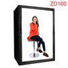 DEEP LED Professional Portable Softbox Box 120 * 80*160cm LED Photo Studio Video Lighting Tent with LED Light