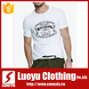 Fashion And Cool Pure Cotton White Print T Shirt