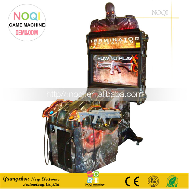 NQS-B17 coin operated electronic target shooting arcade game machine