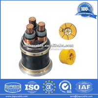 2014 Hot Exporting Power Cable with Cu/Al Conductor XLPE/PVC Insulation hs code for power cable
