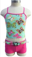 hot sale kids girl swimwear of colorful bath suit