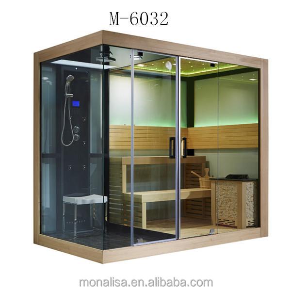 Luxury Bathroom Design Sauna Steam Shower Combination Room