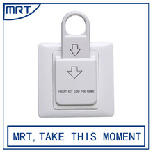 2017 Hotel Magnetic insert key card energy saving switch to get power MRT106-K86A