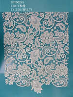 wholesale african guipure embroidery lace fabric water soluble lace fabric for wedding dress