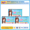 wholesale hot selling anion sanitary napkin with negative ion manufacturer in China