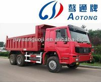 2 axle 40T small dump truck trailer for sale