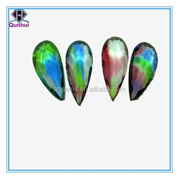 beautiful pear shaped colorful gemstone jewelry